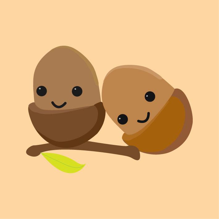 acorny day.